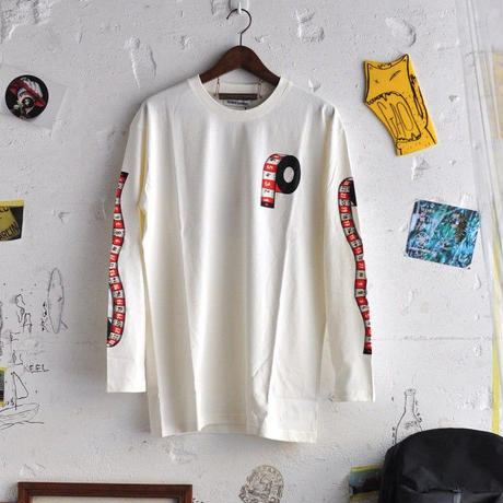 ★ 18AW NEW ! / HENRIK VIBSKOV - Measuring Mens LS Tee (OFF WHITE) ★