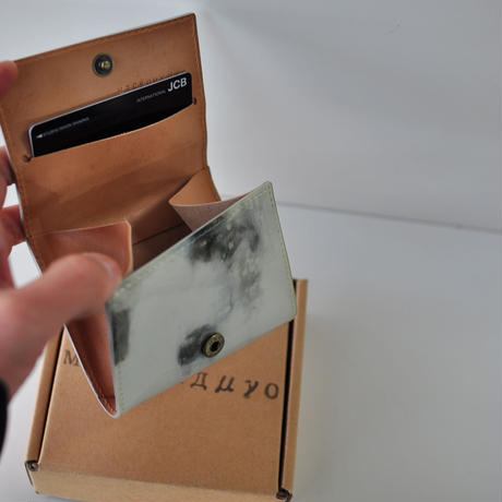 ★ MACROMAURO (マクロマウロ) / paint coin case (MONO) ★