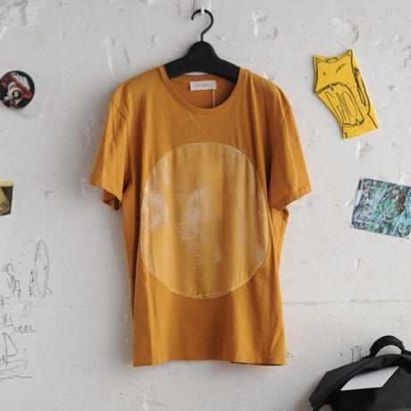 ★ CORRELL CORRELL (コレルコレル) / VELVET CIRCLE T SHIRTS  (GOLD/SIZE / L) ★