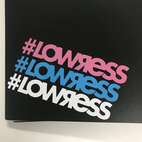 #LOWЯESS Cutting Sticker [#st00s001]