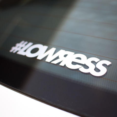 #LOWЯESS Hologram Sticker [#sths001]