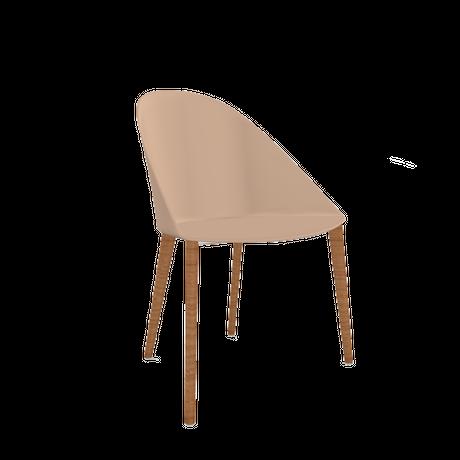 Arper/ Cila(木製脚ベース):5種類
