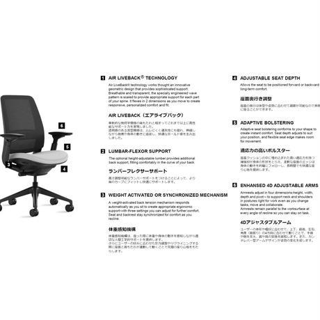 【新発売】Series 2 - Air Back with 3D Microknit / Lagoon