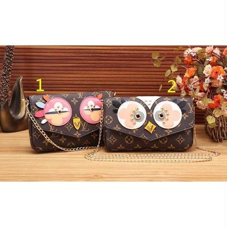 Louis Vuitton/ルイ・ヴィトン 可愛い 人気美品 本革 ショルダーバッグ 2色 WPV008
