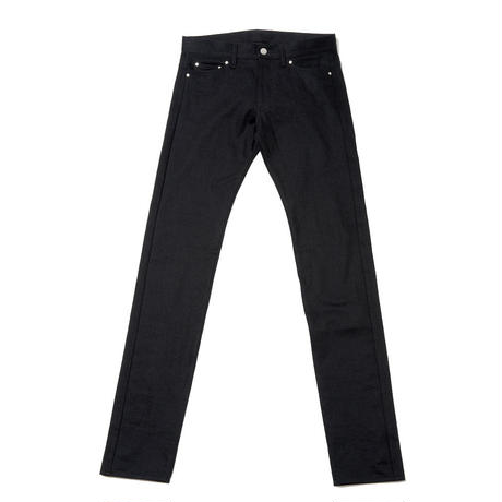 BLACK SKINNY TEDDY PANTS