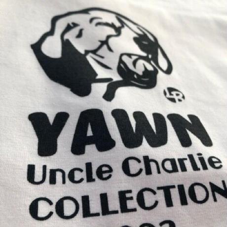 ビーグルイラストTシャツ:YAWN