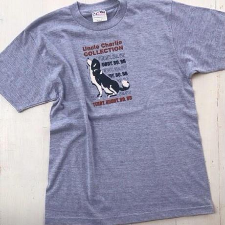 ビーグルイラストTシャツ:空を見上げて