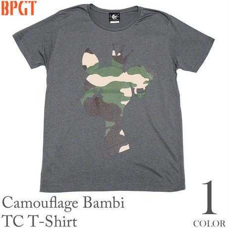 sp088tc - 迷彩 バンビ TC Tシャツ - BPGT -G-( カモフラージュ かわいい bambi こじか 子鹿 カットソー )