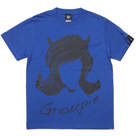 sp079tee-rb - Groupie(グルーピー)Tシャツ (ロイヤルブルー)-G- 半袖 バンド ROCK ロック 青色