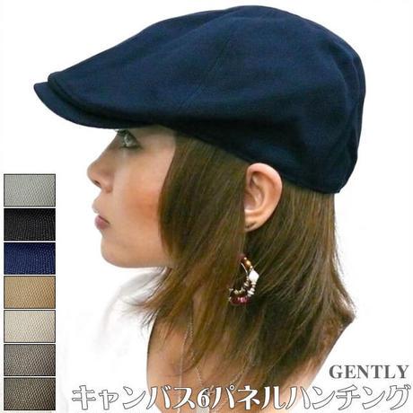 squ6184-6p - キャンバス 6パネルハンチング - GENTLY -G-( キャンバス地 帽子 ぼうし カジュアル モード )