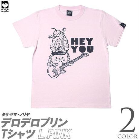 nr005tee - デロデロプリン Tシャツ - タケヤマ・ノリヤ -G- かわいい ロック ギター イラスト コラボ メンズ レディース 半袖