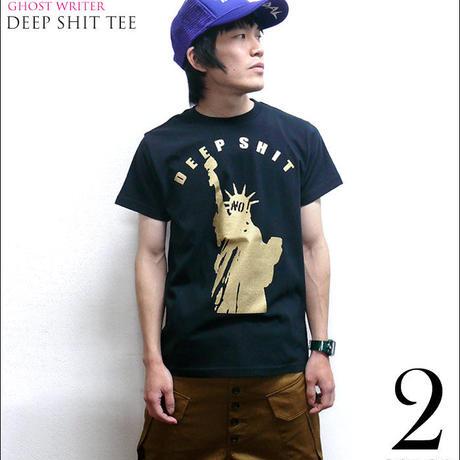 tgw007tee - Deep Shit Tシャツ - The Ghost Writer -G- PUNKROCK パンクロック USA アメリカ 自由の女神