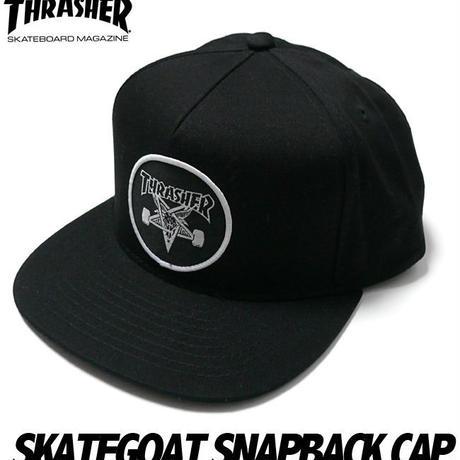 sq11425 - SKATEGOAT スケートゴート スナップバック キャップ - THRASHER - スラッシャー -G-