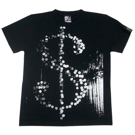 tgw040tee - HIKARI Tシャツ -G- パンクロックTシャツ ブラック 黒色 半袖 オリジナル