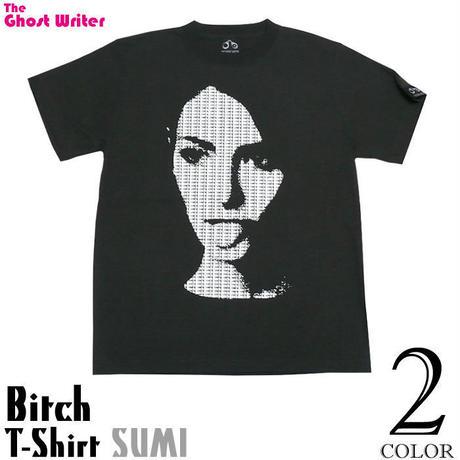 tgw006tee - Bitch ( ビッチ ) Tシャツ (スミ) -G-( パンク PUNK グラフィック デザイン フォトTシャツ 半袖 )