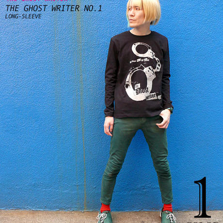 tgw001lt - The Ghost Writer No.1 ロングスリーブTシャツ -G- パンク ロック ロンT パンキッシュ 長袖