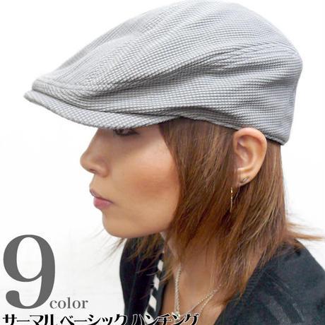 squ-6464 - サーマル ベーシック ハンチング - GENTLY -G-( ワッフル 帽子 ぼうし カジュアル モード )
