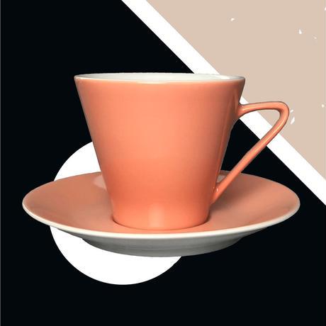 Lilien Austria  コーヒーカップ&ソーサ―【Lachsrosa】