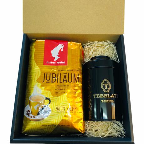Julilus Meinlジュビリ【コーヒー豆】&紅茶缶セット