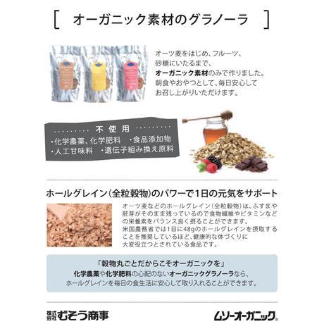 【BIO KING】オーガニックグラノーラ(チョコ)200g