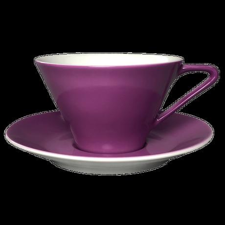 Lilien Austria  ティー・コーヒー兼用カップ&ソーサ―【Violett】