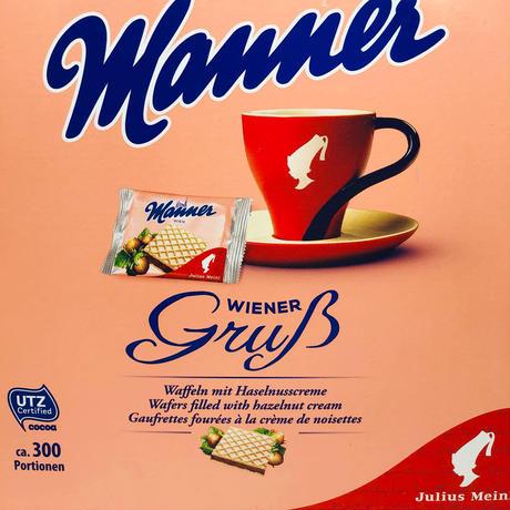 【julius meinl TEAギフト】紅茶 &Mannerミニウエハース16個  セット