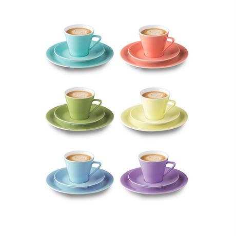 Lilien Austria  コーヒーカップ&ソーサ―【Aquamarin】