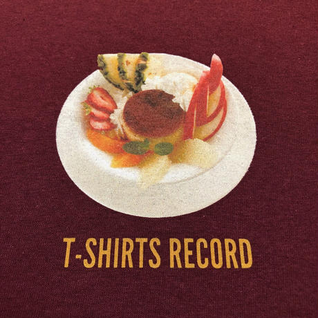 T-Shirts Record / Pudding a la Mode S/S Tee (Burgundy)