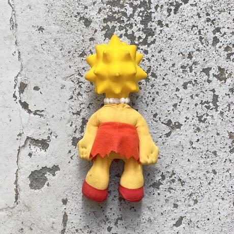 The Simpsons / Lisa Simpson Toy, ©1990 Only at BURGER KING