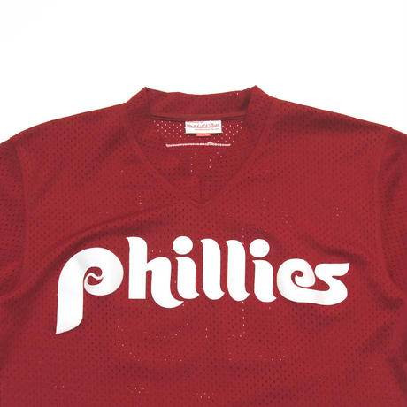 Mitchell & Ness / Coopers Town Collection, Phillies Baseball Jersey