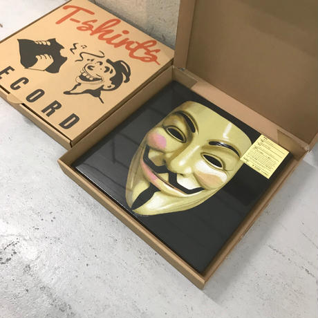 V for Vendetta / Guy Fawkes Mask S/S Tee size : L