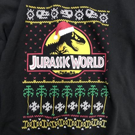 JURASSIC WORLD / Ugly Christmas Crewneck Sweatshirt