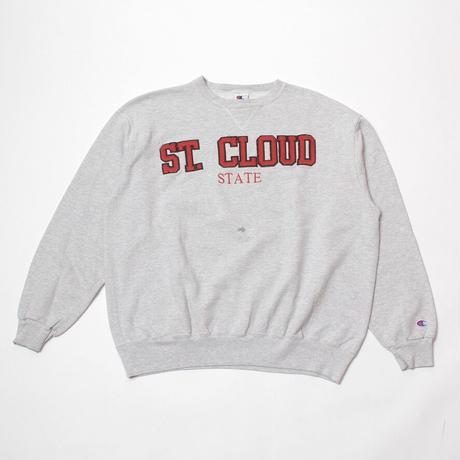 "Champion / Vintage, Crewneck Sweatshirt ""ST. CLOUD STATE"""
