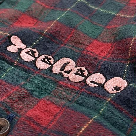 T-Shirts Record / Embroidery Vintage Flannel L/S Shirt