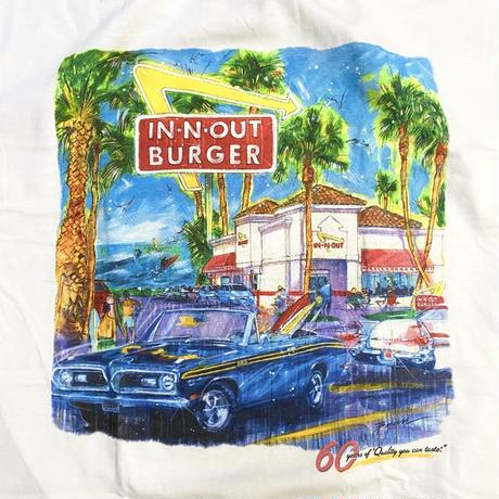 IN-N-OUT BURGER / 2008 60TH ANNIVERSARY S/S Tee