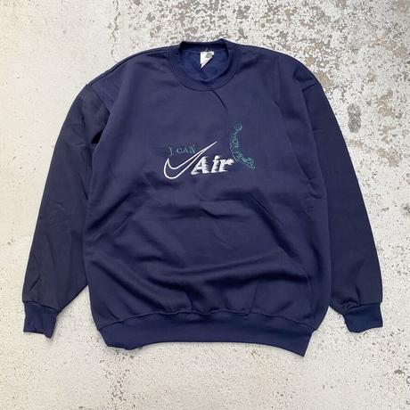 NIKE / 90's Vintage Bootleg I Can Air Crewneck Sweatshirt