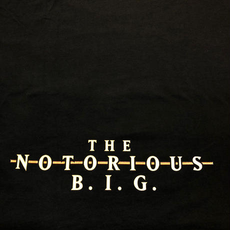 The Notorious B.I.G / 90's Vintage REMEMBER S/S Tee size : XL