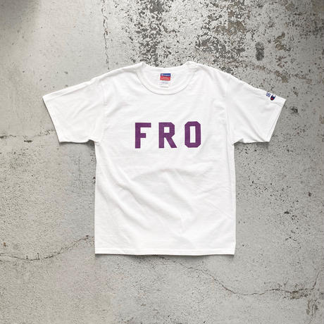 FROCLUB / FRO S/S Tee (White)