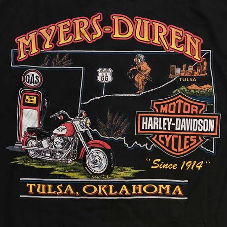 Harley Davidson / 90's Vintage, Tulsa S/S Tee