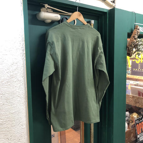 T-Shirt Record / Zoo L/S Tee (Olive)