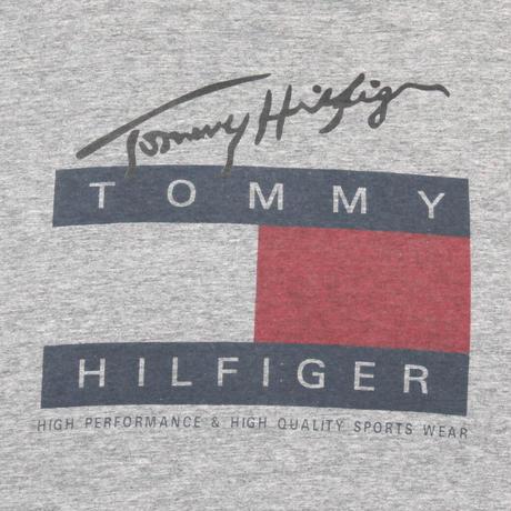 TOMMY HILFIGER / 90's Vintage Bootleg, Flag S/S Tee