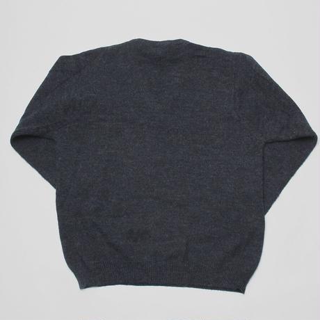 Vintage, V-neck Knit Sweater