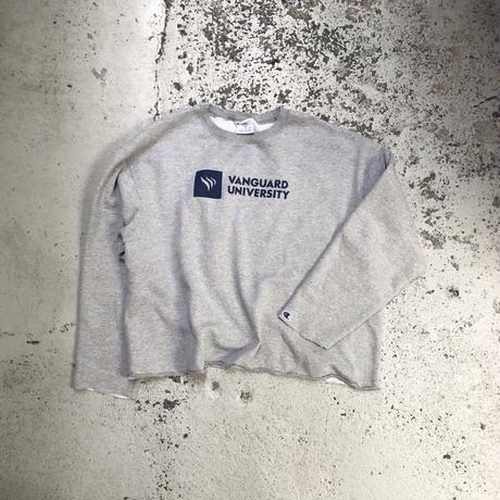 Champion / Cut off Custom Crewneck Sweatshirt