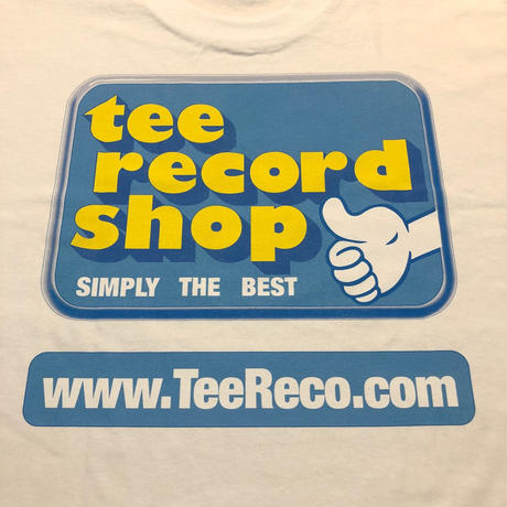 T-Shirts Record / Record Shop S/S Tee (White)