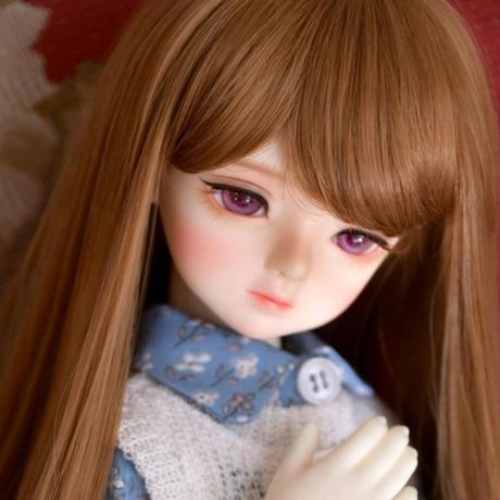 球体関節人形 美しい BJD 1/4 知的な少女 フルセット