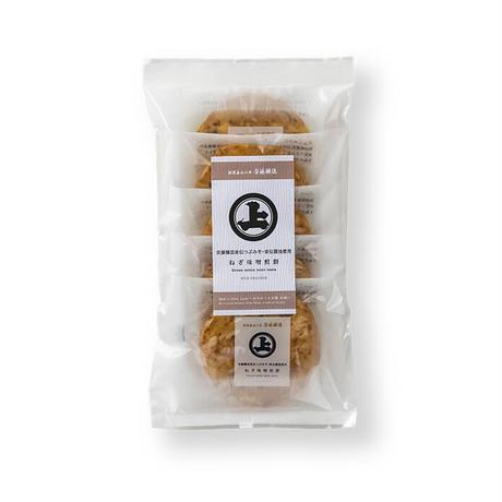 安藤醸造ねぎ味噌煎餅5枚袋タイプ
