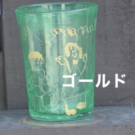 らくがきガラス(ファッショングラス暖色系)