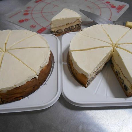 黒豆ダブルチーズケーキ・2台セット