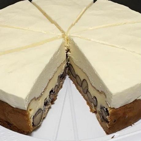 黒豆ダブルチーズケーキ