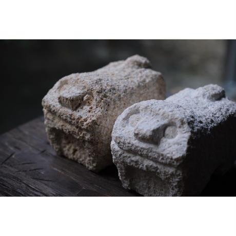 イジャーシーサー【小,口開】粟石